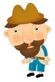 Personagem de banda desenhada - ilustração para as crianças Foto de Stock