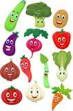 Personagem de banda desenhada vegetal bonito Imagens de Stock Royalty Free