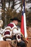 Personagem típico do Chile fotografia de stock