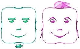 Personagens de banda desenhada 1 Imagem de Stock