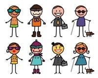 Personaggi dei cartoni animati 4 Fotografia Stock
