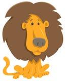 Personaggio dei cartoni animati del leone Immagine Stock Libera da Diritti