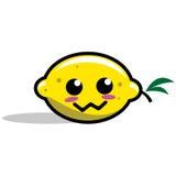 Personaggio dei cartoni animati del limone Fotografie Stock Libere da Diritti