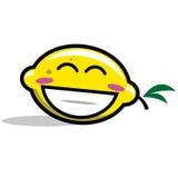 Personaggio dei cartoni animati del limone Fotografia Stock Libera da Diritti