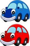 Personaggio dei cartoni animati dell'automobile Fotografia Stock Libera da Diritti