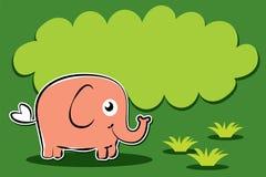 Personaggio dei cartoni animati dell elefante del bambino