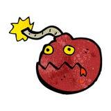 personaggio dei cartoni animati della bomba Fotografie Stock Libere da Diritti