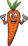 Personaggio dei cartoni animati della carota Immagine Stock Libera da Diritti
