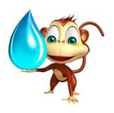 Personaggio dei cartoni animati della scimmia di divertimento con