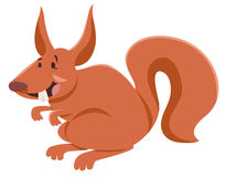 Personaggio dei cartoni animati dello scoiattolo Fotografie Stock Libere da Diritti