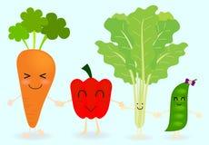 Personaggio dei cartoni animati di verdure Immagine Stock