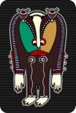 Personaggio del mostro di fantasia Fotografie Stock