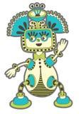 Personaggio del mostro di fantasia Fotografia Stock