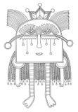 Personaggio del mostro di fantasia Fotografia Stock Libera da Diritti