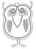 Personaggio del mostro di fantasia di scarabocchio Fotografia Stock