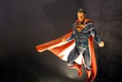 Personaggio immaginario delle action figure del superman dai film di CC e comico immagini stock