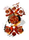 Personaje de dibujos animados abstracto Foto de archivo