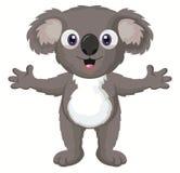 Personaje de dibujos animados de la koala Fotos de archivo