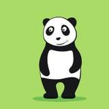 Personaje de dibujos animados de la panda Imagen de archivo libre de regalías
