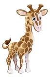 Personaje de dibujos animados del animal de la jirafa Fotografía de archivo libre de regalías