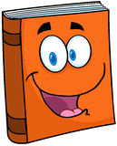 Personaje de dibujos animados del libro de texto Fotos de archivo