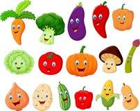 Personaje de dibujos animados vegetal lindo Imagen de archivo libre de regalías