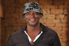 Personaje de la radio Thomas Msengana November 2015 en Suráfrica Imágenes de archivo libres de regalías