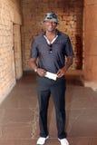 Personaje de la radio Thomas Msengana November 2015 en Suráfrica Imagenes de archivo