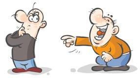 Personajes de dibujos animados. Fotografía de archivo libre de regalías