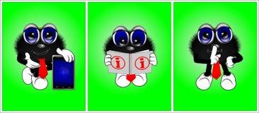 Personajes de dibujos animados 2 Fotos de archivo