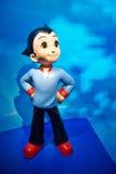 Personajes de dibujos animados del muchacho de Astro Fotografía de archivo