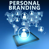 Personal Branding stock illustration