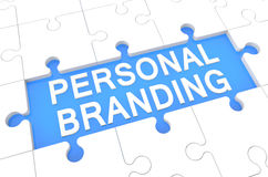 Personal Branding vector illustration