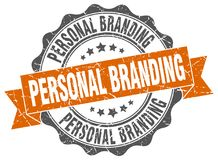 Personal branding seal Stock Images