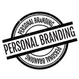 Personal branding stamp Stock Photo
