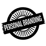 Personal branding stamp Royalty Free Stock Images