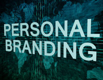 Personal Branding royalty free illustration