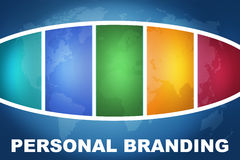 Personal Branding Stock Image
