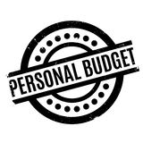 Personal Budget rubber stamp Royalty Free Stock Photography
