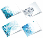 Personal business cards set Royalty Free Stock Photo
