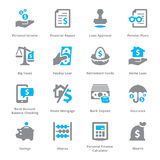 Personal & Business Finance Icons Set 1  Royalty Free Stock Image
