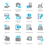 Personal & Business Finance Icons Set 2 - Sympa Series Royalty Free Stock Photo
