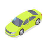 Personal Car Vector Icon in Isometric Projection Royalty Free Stock Image
