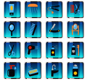 Personal care icon set Royalty Free Stock Photos