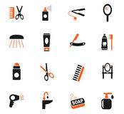 Personal care icon set Stock Photos
