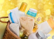 Personal care products Royalty Free Stock Image