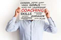Personal or career coaching concept stock image