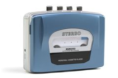 Personal Cassette Player Stock Photos