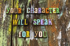 Personal character ethics integrity honesty trust kindness compassion