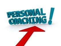 Personal coaching Royalty Free Stock Photo